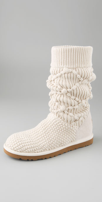 ugg classic argyle knit