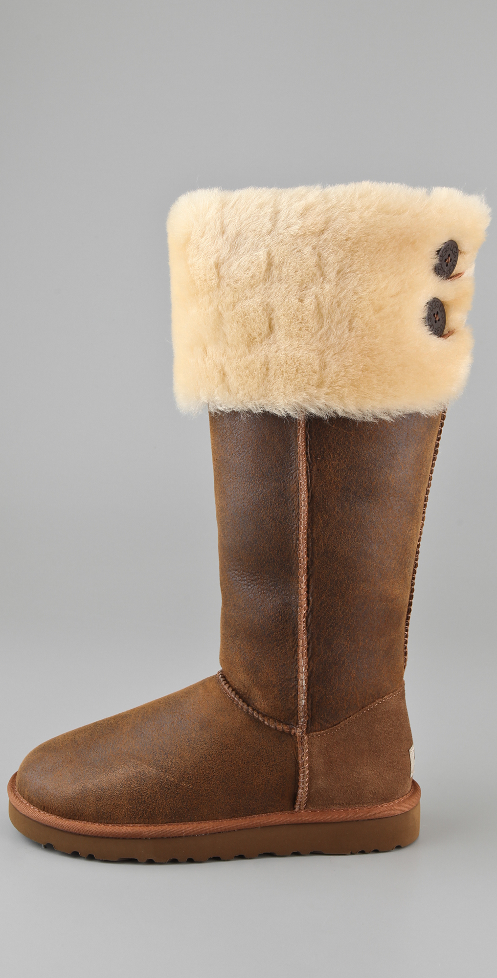 03132b0cda8 UGG Australia Over the Knee Bailey Button Boots | SHOPBOP