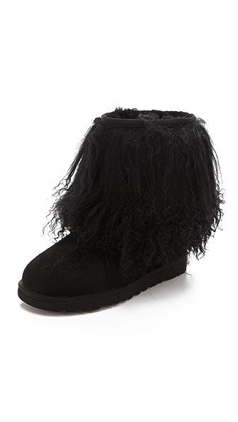 UGG Australia Short Sheepskin Cuff Boots