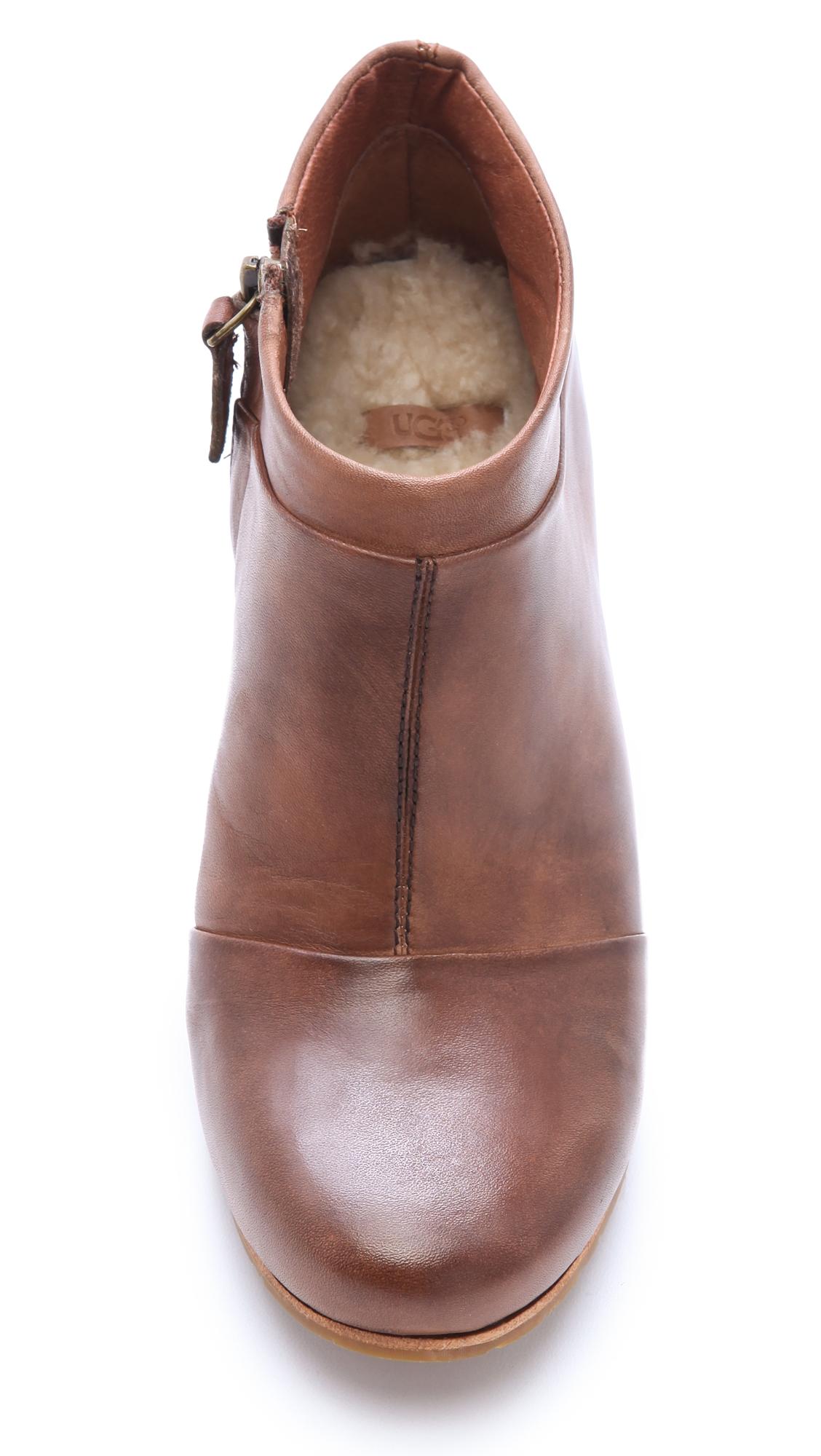 1f312433e95 UGG Australia Carmine Wedge Booties