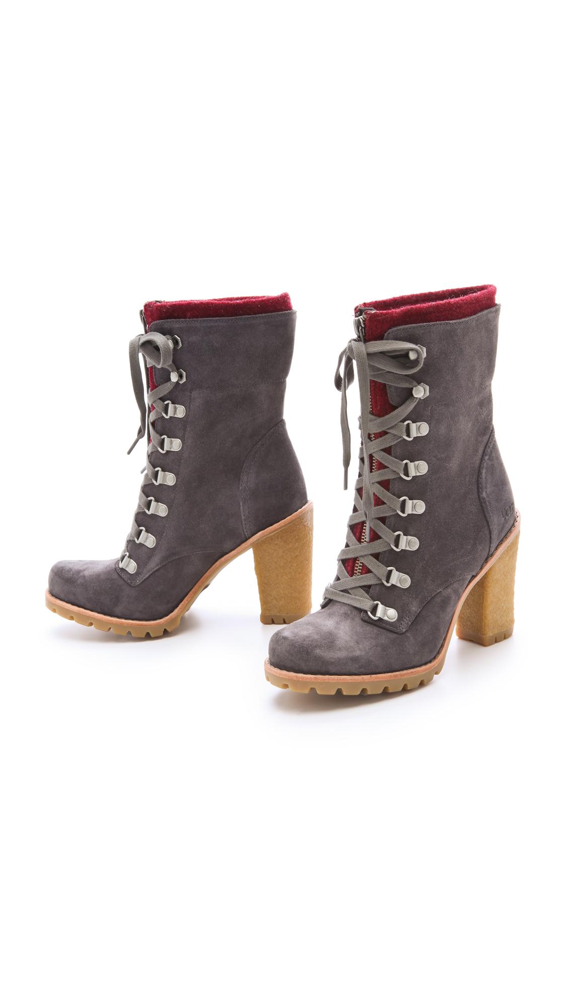 55ff717cf5c UGG Australia W Fabrice Boots with Lug Sole | SHOPBOP