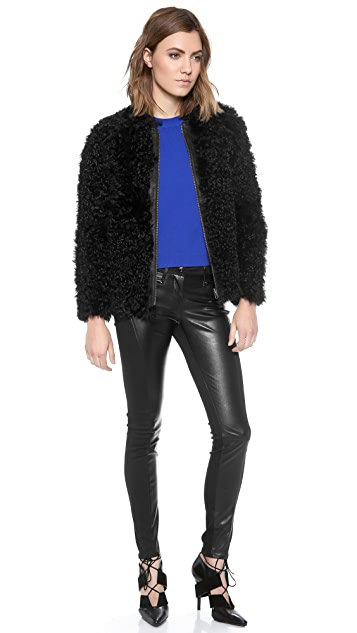 Ulla Johnson Falcon Fur Jacket