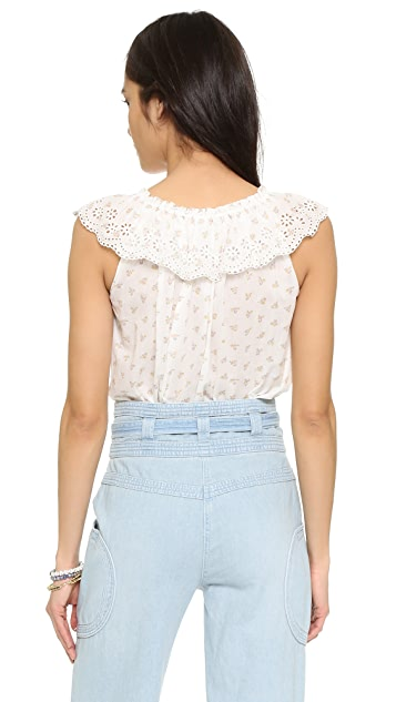 Ulla Johnson Edith Blouse