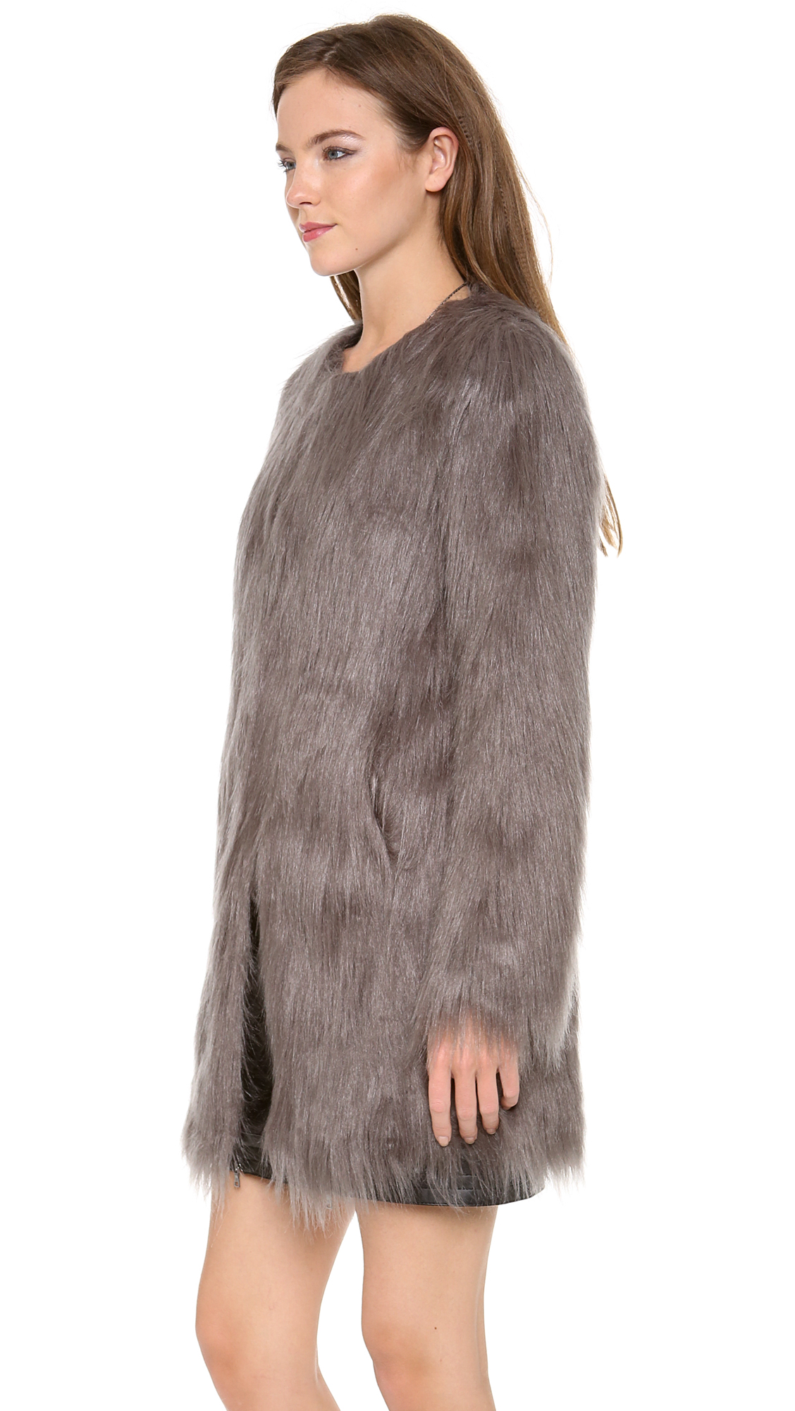 Unreal Fur Wanderlust Faux Fur Coat  725210480