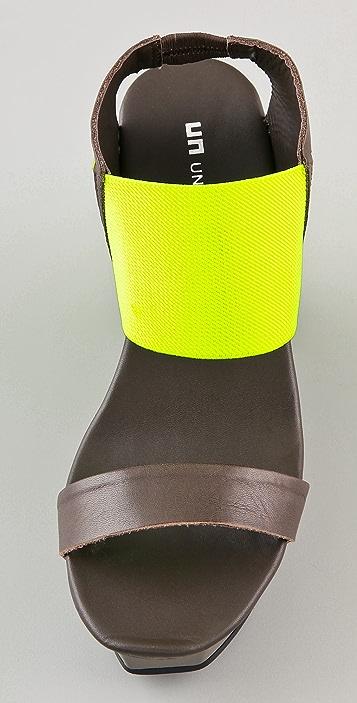 United Nude Geisha Colorblock Sandals