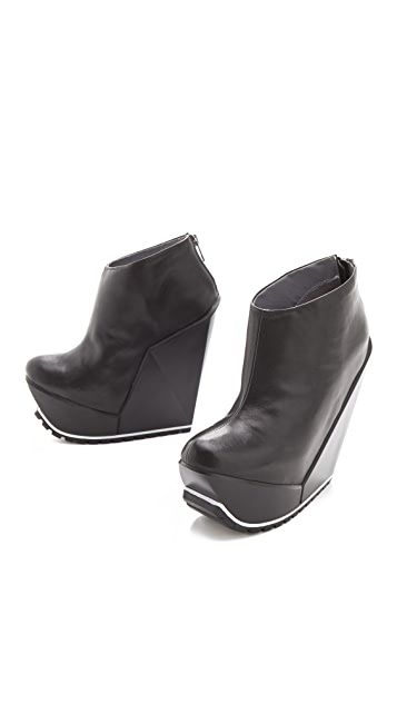 United Nude Delta Wedge Bootie