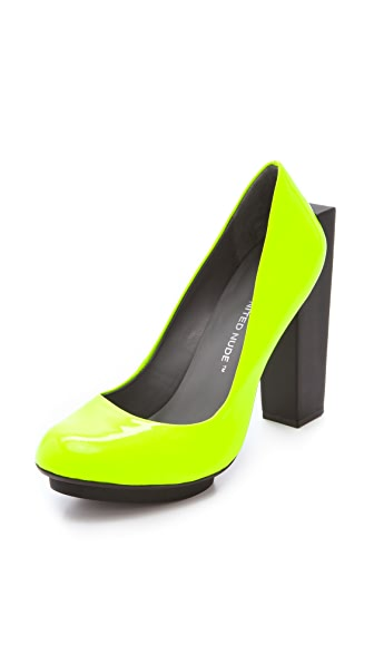 United Nude Block Pumps