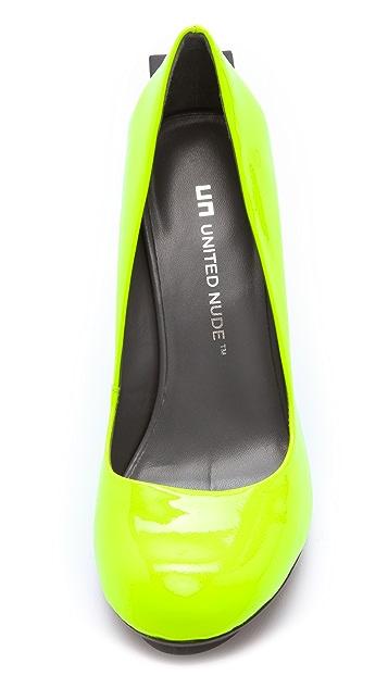 United Nude Block Pumps