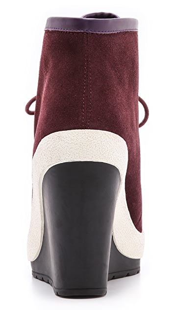 United Nude Urban Chukka Wedge Booties