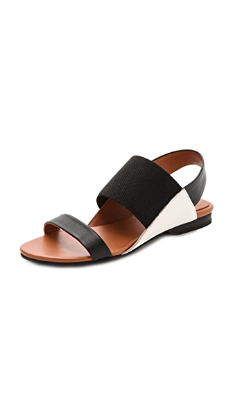 United Nude Sense Lo Colorblock Flat Sandals
