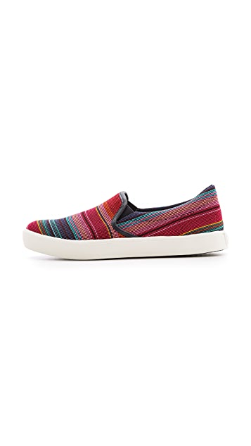 United Nude Elastic Slip On Sneakers