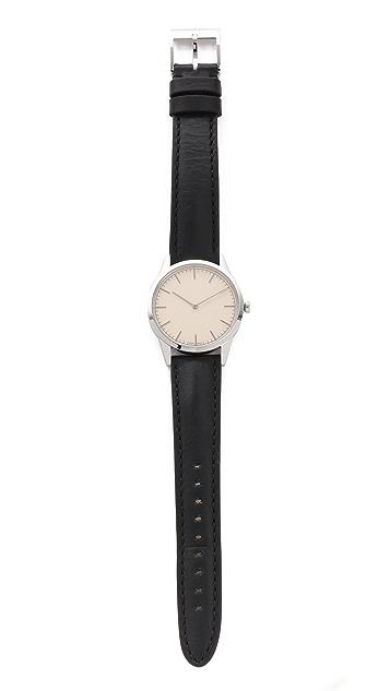 Uniform Wares C35 Polished Steel Watch