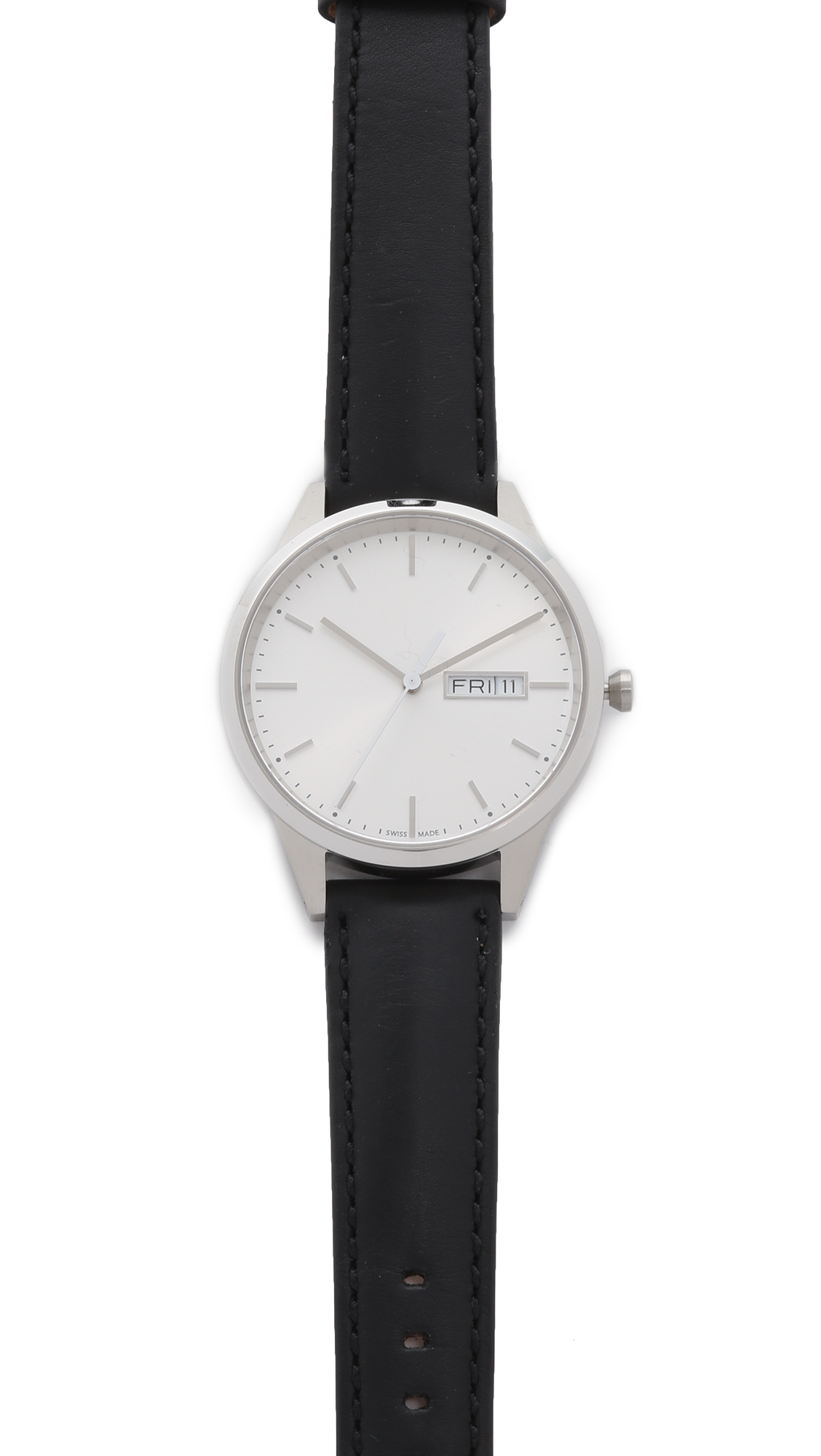 Uniform Wares C40 Brushed Steel Watch