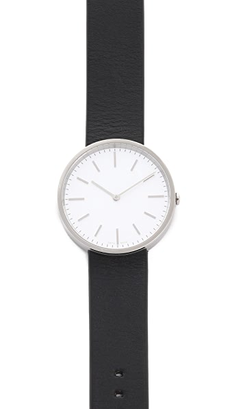 Uniform Wares M37 Polished Steel Watch