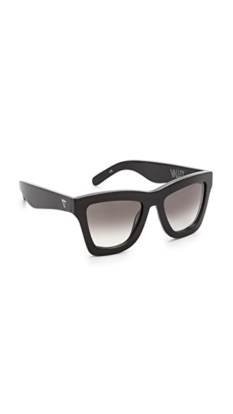 Valley Eyewear DB Sunglasses - Gloss Black/Black