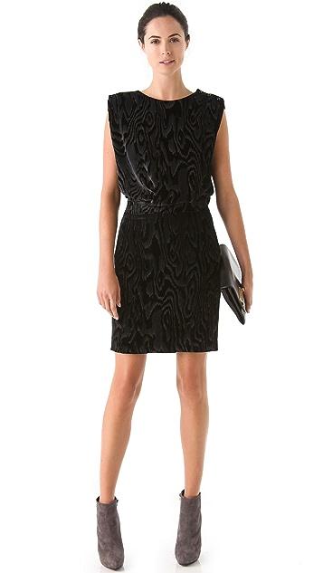 VIKTOR & ROLF Printed Velvet Dress