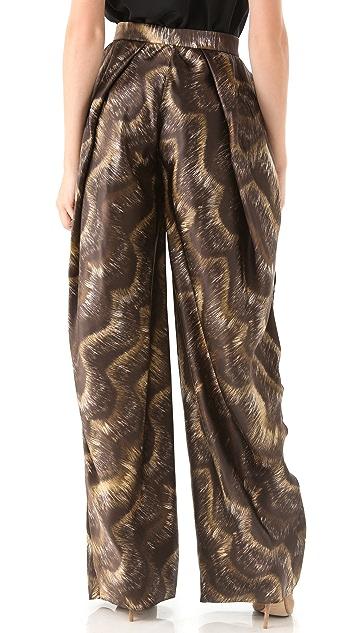 VIKTOR & ROLF Printed Full Leg Trousers