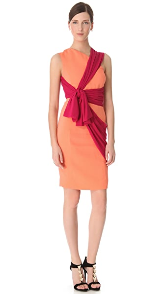 VIKTOR & ROLF Structured Crepe Dress
