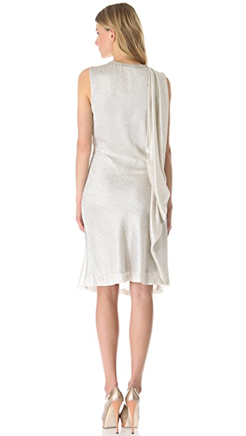 VIKTOR & ROLF Sleeveless Drape Dress