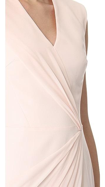 VIKTOR & ROLF Sleeveless Crepe Dress