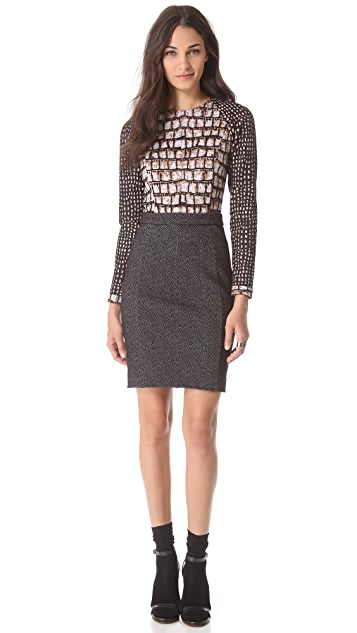 VIKTOR & ROLF Long Sleeve Jersey Dress