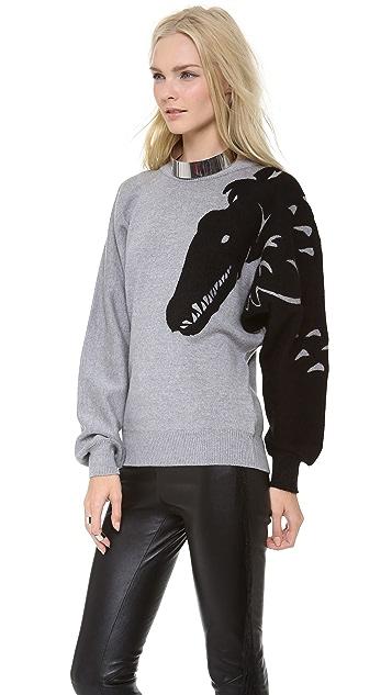VIKTOR & ROLF Wool Sweater