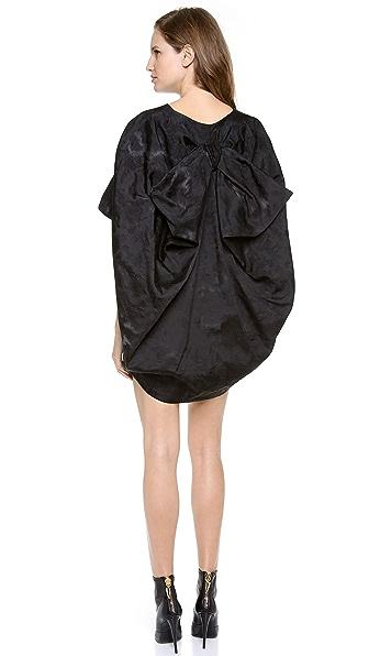 VIKTOR & ROLF Short Sleeve Bow Back Dress