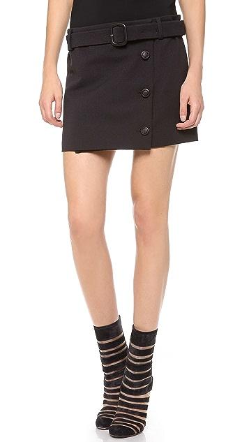 VIKTOR & ROLF Button Miniskirt