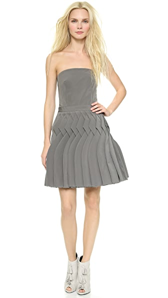 VIKTOR & ROLF Sleeveless Pleated Dress