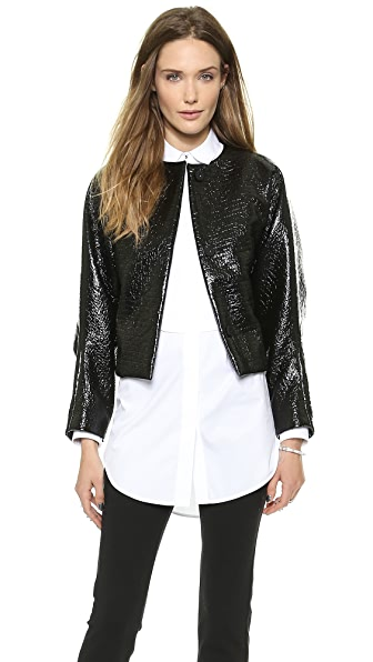 VIKTOR & ROLF Foiled Wool Jacket