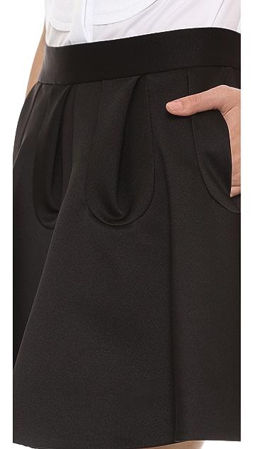 VIKTOR & ROLF Pleated Skirt