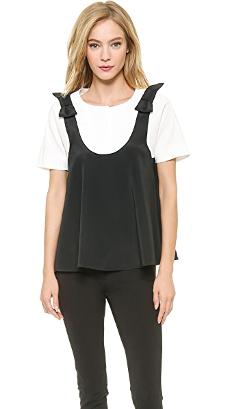 VIKTOR & ROLF Short Sleeve Top