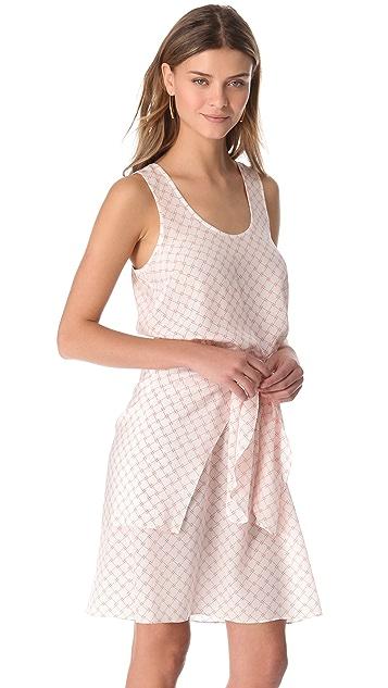 Veronica Beard Tie Front Dress