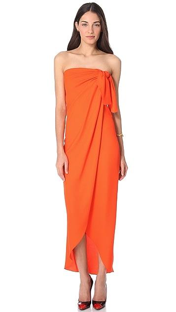 Veronica Beard The Sarong Dress