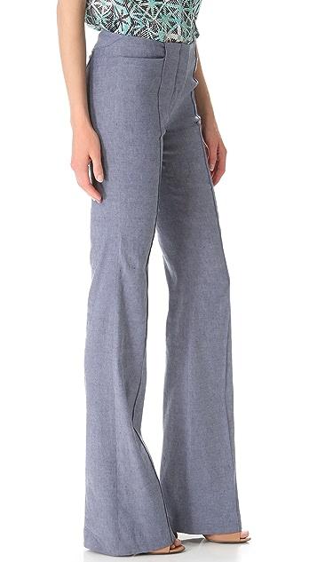 Veronica Beard The Wide Leg Pants