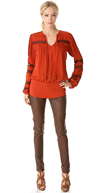 Veronica Beard Long Sleeve Top