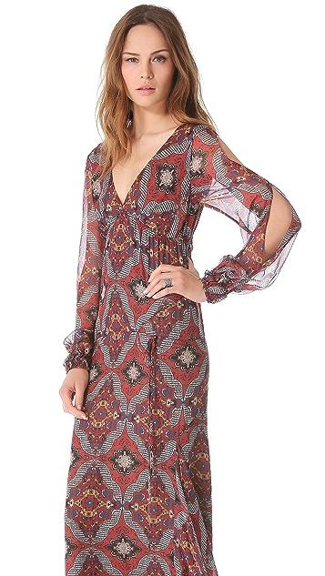 Veronica Beard Long Sleeve Dress