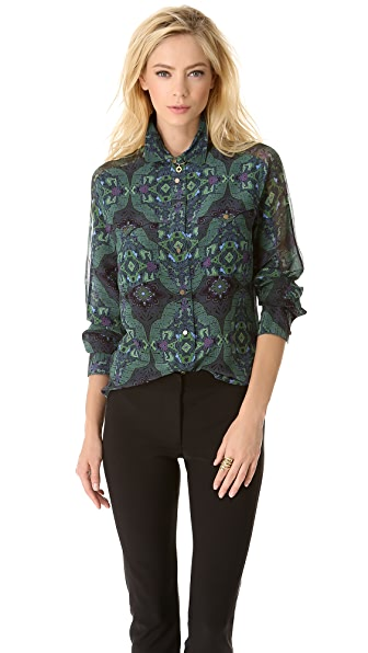 Veronica Beard Long Sleeve Blouse