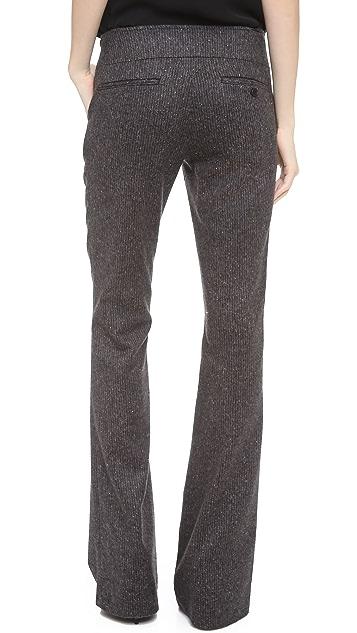 Veronica Beard Flared Wool Pants