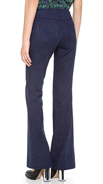 Veronica Beard Wide Leg Jeans