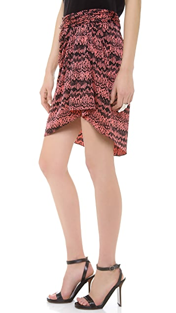 Veronica Beard The Drape Skirt
