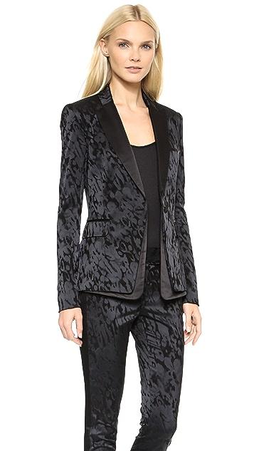 Veronica Beard Peplum Tuxedo Jacket