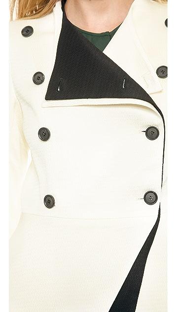 Veronica Beard Origami Combo Jacket