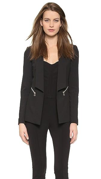 Veronica Beard Textured Tailored Jacket