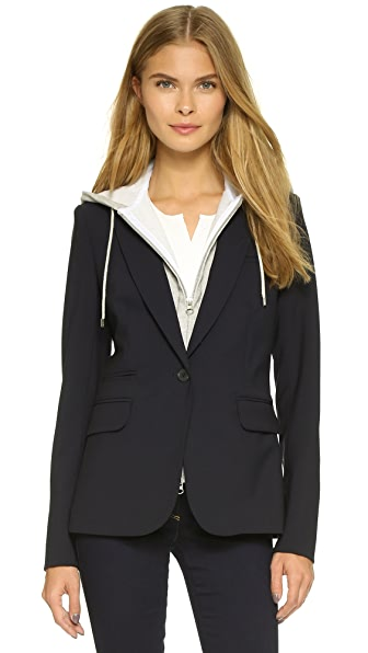 Veronica Beard Classic Jacket with Hoodie Dickey at Shopbop