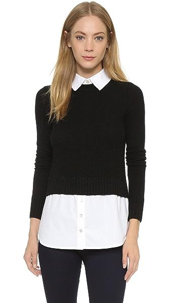 Veronica Beard Mohawk Solid Sweater