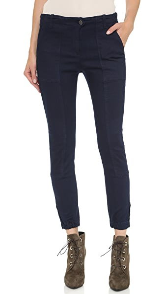 Veronica Beard Field Cargo Pants - Indigo