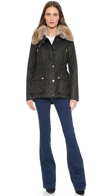 Veronica Beard Glade Patch Pocket Coat