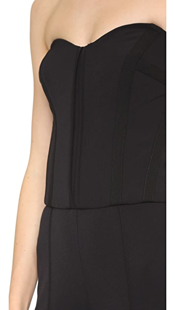 Veronica Beard Bustier Jumpsuit