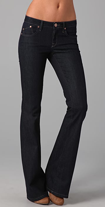 Victoria Beckham Clean Boot Cut Jeans